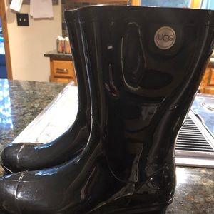 Ugg rain boots for girls! Plus 2 pair Ugg socks